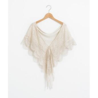 le.coeur blanc / ルクールブラン シフォンレースショール