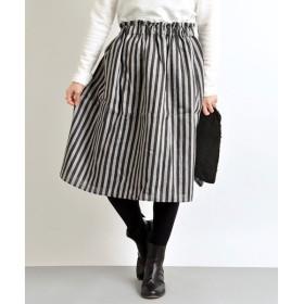 SHIPS for women / シップスウィメン ギャザー スカート