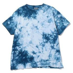 ROSE BUD / ローズ バッド メンズ胸ポケット付きプリントTシャツ