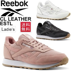 レディース スニーカー リーボック Reebok クラシックレザー ローカット シューズ BS9718 BS9719 BS9723 レザー 天然皮革 靴 / CL-LEATHER-ESTL
