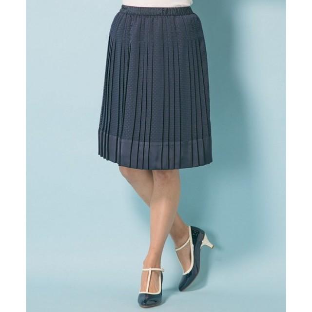 組曲 / クミキョク ('15春)オパールプリーツ スカート