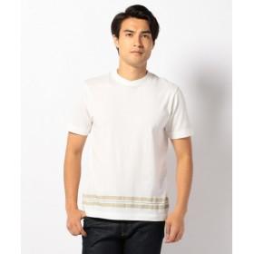 JOSEPH ABBOUD / ジョセフ アブード アムンゼンパネルボーダー Tシャツ