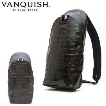 VANQUISH ヴァンキッシュ ボディバッグ クロコ VQM-41390