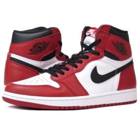 NIKE AIR JORDAN 1 RETRO HIGH OG 【CHICAGO】 ナイキ エア ジョーダン 1 レトロ ハイ OG WHITE/BLACK/VARSITY RED