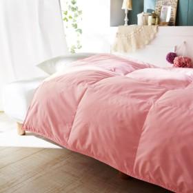 女性のためのかろやか肌掛布団 カラー 「ピンク」