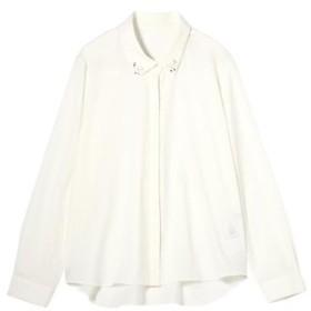 PROPORTION BODY DRESSING / プロポーションボディドレッシング  ジョーゼットストレッチシャツ