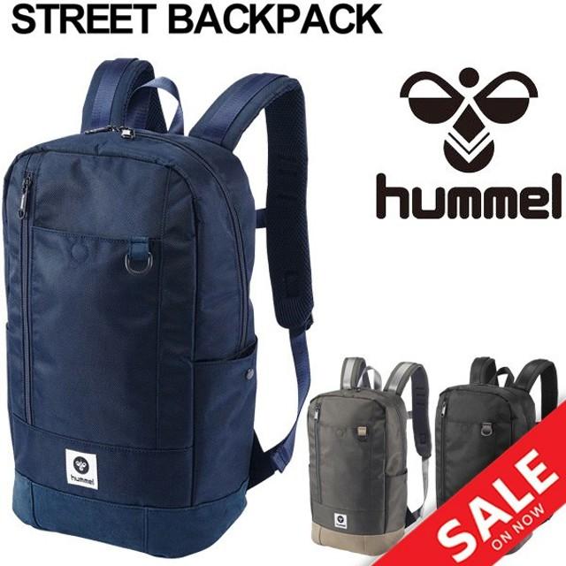 バックパック スポーツバッグ メンズ レディース ヒュンメル hummel リュックサック デイパック 18L ザック ストリート 通学通勤 STREET BACKPACK /HLB4001