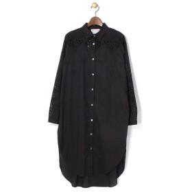 BEARDSLEY / ビアズリー 刺繍ロングシャツ