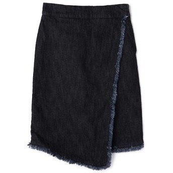 ROSE BUD / ローズ バッド デニムラップスカート