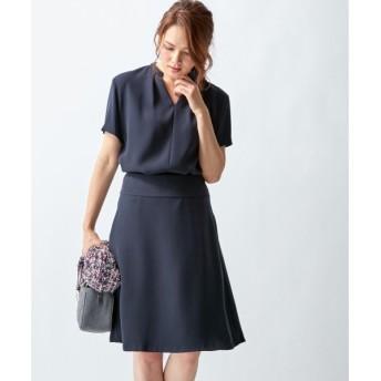 S size ONWARD(小さいサイズ) / エスサイズオンワード 【セットアップ対応】ドレーピーWサテン スカート