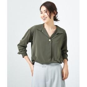 Abahouse Devinette / アバハウスドゥビネット スタンドカラーシャツ
