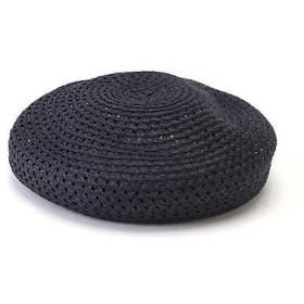 N.Natural Beauty Basic / エヌ ナチュラルビューティーベーシック 透かし編みペーパーベレー帽
