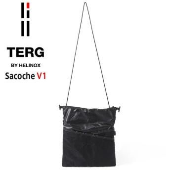 TERG BY HELINOX ターグ バイ ヘリノックス Sacoche サコッシュ V1 ブラック メンズ レディース バッグ ショルダー ポーチ ブランド