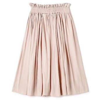 PROPORTION BODY DRESSING / プロポーションボディドレッシング  《EDIT COLOGNE》シャイニーギャザースカート