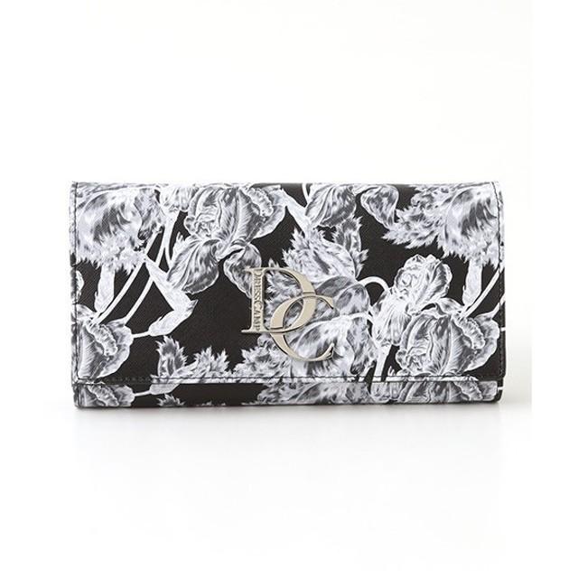 SHIFFON / シフォン 【DRESSCAMP】モノクロフラワーパターン長財布