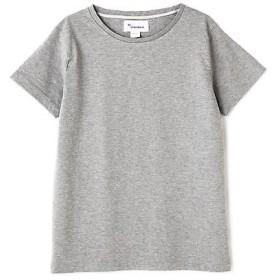 HUMAN WOMAN / ヒューマンウーマン 80/3マハバーラボーダーTシャツ