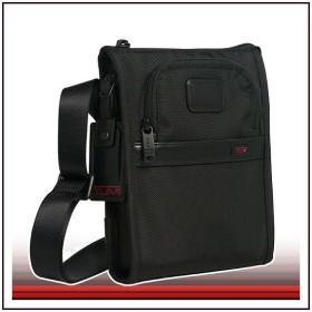 TUMI22110 22110 ALPHA2 ポケットバッグ・スモール ブラック