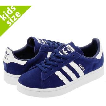 【キッズサイズ】【17cm-21.5cm】 adidas CAMPUS C アディダス キャンパス C DARK BLUE/RUNNING WHITE
