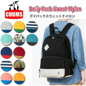 CHUMS チャムス Daily Pack Sweat Nylon CH60-2115
