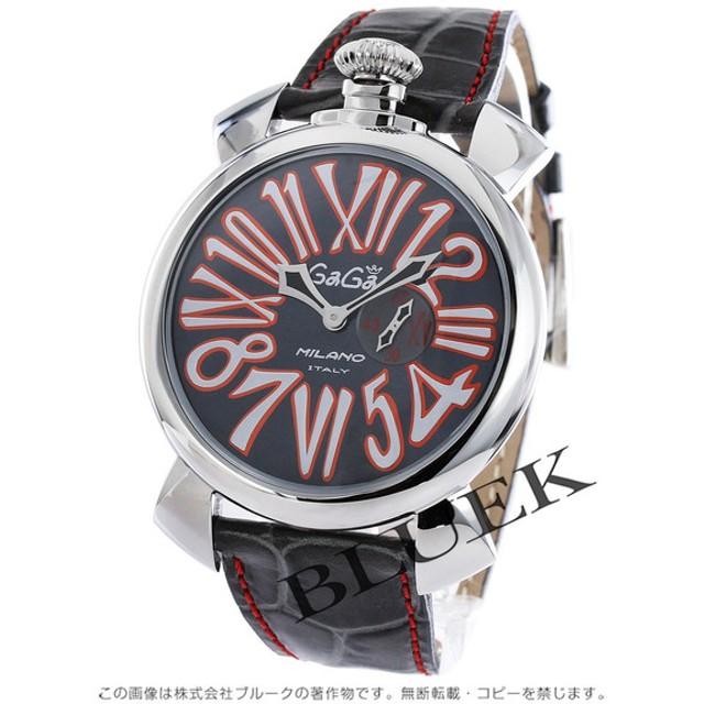 timeless design c41a5 b5135 ガガミラノ スリム46MM 腕時計 メンズ GaGa MILANO 5084.2 通販 ...