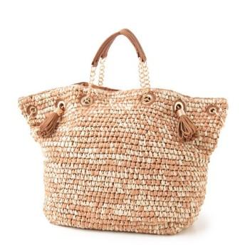 SHIPS for women / シップスウィメン チェーン ハンドル ミックスカラー バッグ
