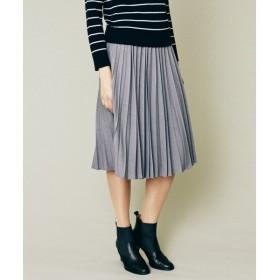J.PRESS / ジェイプレス P/レーヨン50Sツイル プリーツスカート