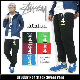 ステューシー STUSSY No4 Stack Sweat パンツ(stussy Stussy pant スウェットパンツ スエットパンツ メンズ・男性用 ボトムス 195009)