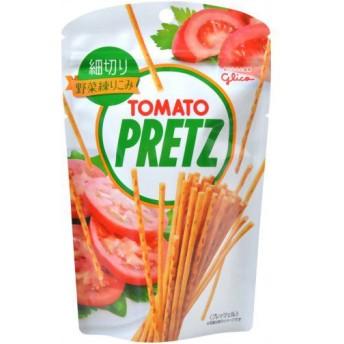 グリコ 細切りプリッツ トマト 48g