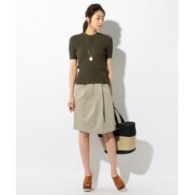 ICB / アイシービー TriacetateCottonSmooth スカート