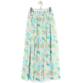 BEARDSLEY / ビアズリー シルクプリントスカート