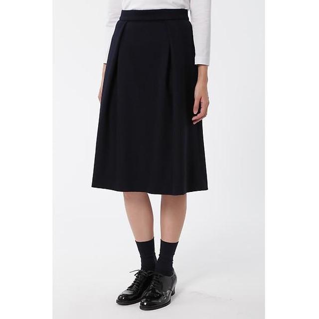 HUMAN WOMAN / ヒューマンウーマン グログランミルドポンチスカート