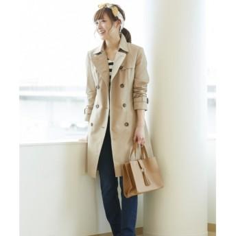 any SiS / エニィスィス シャンブレーツイルトレンチ コート