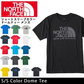 ノースフェイス THE NORTH FACE Tシャツ ショートスリーブカラードームティー(メンズ) S/S Color Dome NT31620 【NF-TOPS】【t-cnr】【メール便・代引不可】