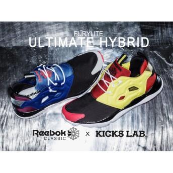 スニーカー メンズ レディース リーボック クラシック × キックスラボ フューリーライト Reebok CLASSIC × KICKS LAB. FURYLITE ULTIMATE HYBRID
