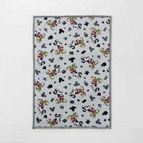 ブランケット ひざ掛け ディズニー マイクロファイバーブランケット ミッキーマウス 約100×140