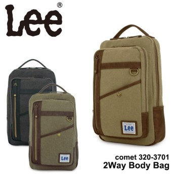 Lee リー 2WAY ボディバッグ キャンバス 320-3701