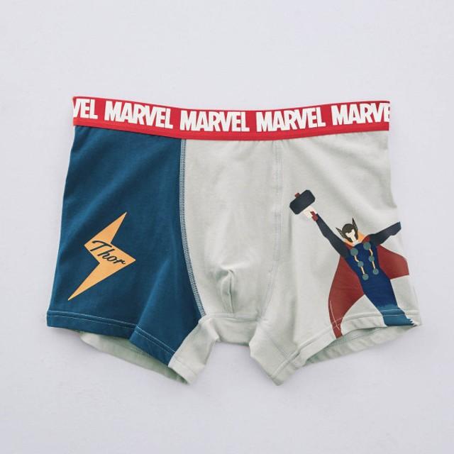 ボクサーパンツ パンツ メンズ インナー 肌着 前とじ ディズニー マーベル ソー M L LL 3L
