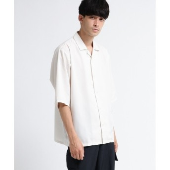tk.TAKEO KIKUCHI / ティーケー タケオキクチ スパンローン オープンカラーシャツ