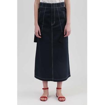 JILLSTUART / ジルスチュアート 《DICKIES》コラボカラーステッチロングスカート