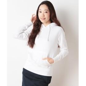 SHIPS for women / シップスウィメン ガーゼ裏毛 プルオーバーパーカー
