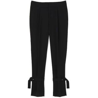 ADORE / アドーア モデレートジョーゼット裾ベルト付きパンツ
