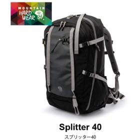 マウンテンハードウェア スプリッター40 ブラック  | 正規品 | Mountain Hardwear バックパック フェス イベント 音楽 野外