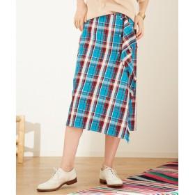 Abahouse Devinette / アバハウスドゥビネット カットオフラップスカート