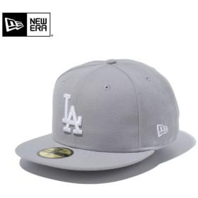 セール20%OFF!【メーカー取次】 NEW ERA ニューエラ 59FIFTY MLB ロサンゼルス・ドジャース グレーXホワイト 11308616 キャップ ブランド