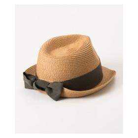 02116880ea4 キャップ レディース UVバックリボン中折れハット 帽子 服飾 雑貨 ハット ニッセン