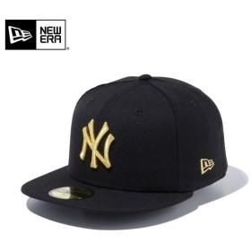 セール20%OFF!【メーカー取次】 NEW ERA ニューエラ 59FIFTY MLB ニューヨーク・ヤンキース ブラックXゴールド 11308572 キャップ ブランド
