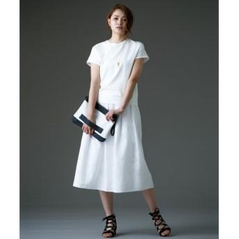 自由区 / ジユウク 【限定店舗・Class Lounge】レーシージャガード スカート