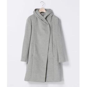 COMME CA / コムサ ゆる羽織りフードコート