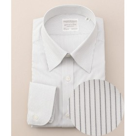 gotairiku / ゴタイリク 【形状安定】【ストライプ】プレミアムプリーツ ドレスシャツ