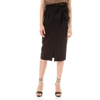 PINKY & DIANNE / ピンキーアンドダイアン 《HOLIDAY LINE》PEタイプライターリボン付きスカート